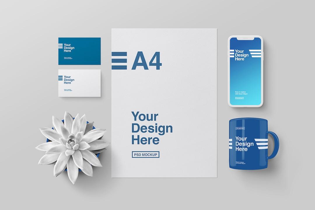 a4-paper-business-cards-phone-mug-mockups-avelina-studio-easybrandz-1