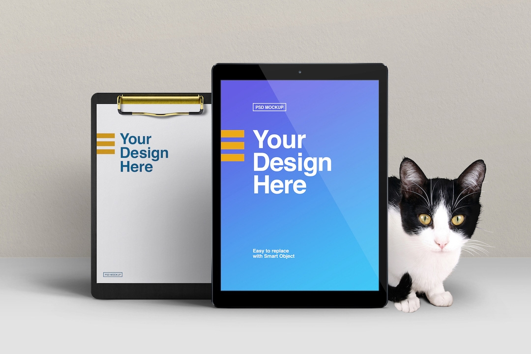 cat-with-tablet-and-clipboard-mockup-avelina-studio-easybrandz-1
