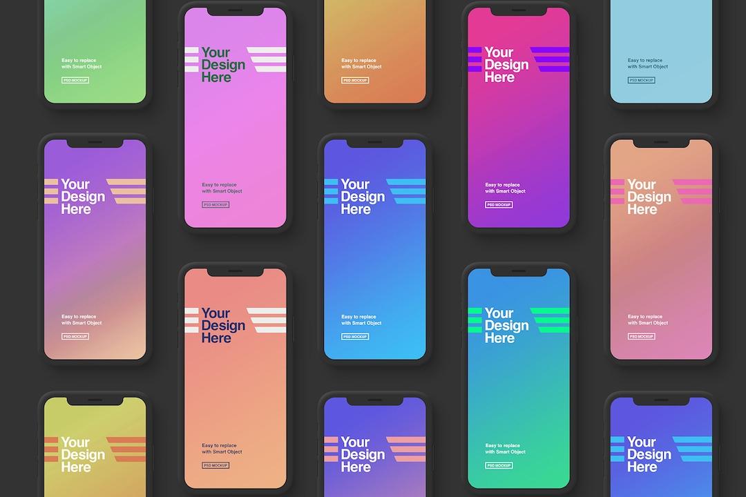 iphone-x-mockup-minimal-black-avelina-studio-easybrandz-1