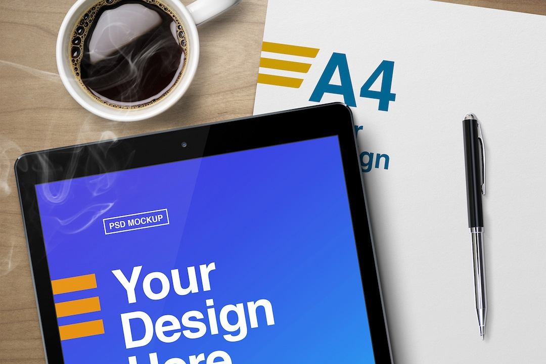 tablet-and-a4-paper-mockup-avelina-studio-easybrandz-1