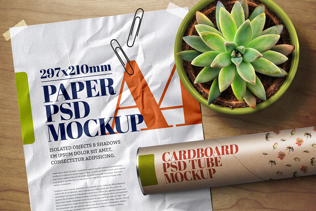 a4-flyer-poster-mockup-crumpled-adhesive-duct-strip-scene-3-avelina-studio-1