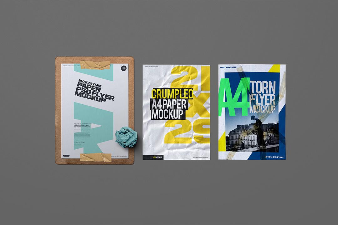 a4-flyer-poster-mockup-crumpled-clipboard-scene-1-avelina-studio-1
