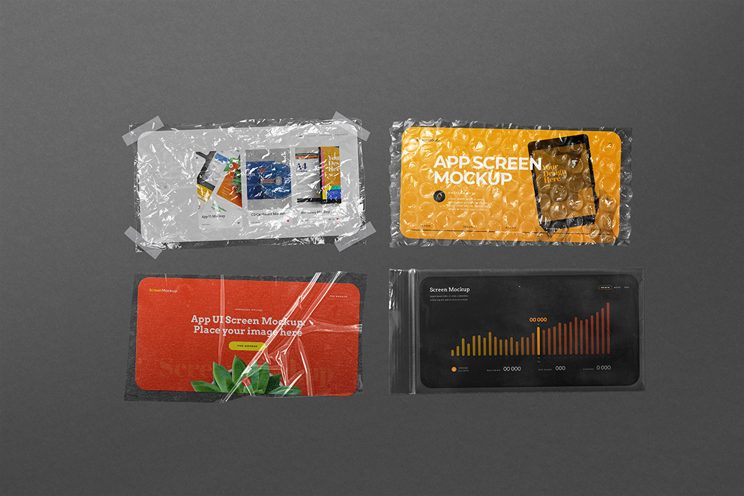app-ui-screen-mockup-phone-landscape-plastic-zip-lock-bag-bubble-wrap-avelina-studio-1